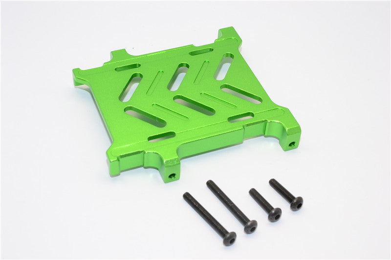 Gmade Crawler R1 Rock Buggy Aluminum Battery Holder - 1Pc Set Green