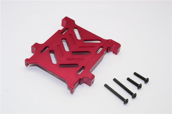 Gmade Crawler R1 Rock Buggy Aluminum Battery Holder - 1Pc Set Red