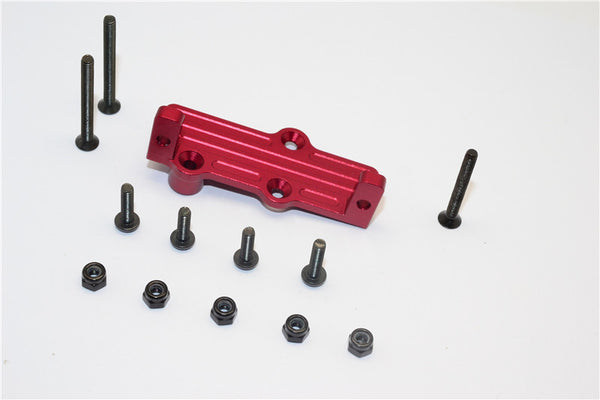 Gmade Crawler R1 Rock Buggy Aluminum Servo Mount - 1Pc Set Red