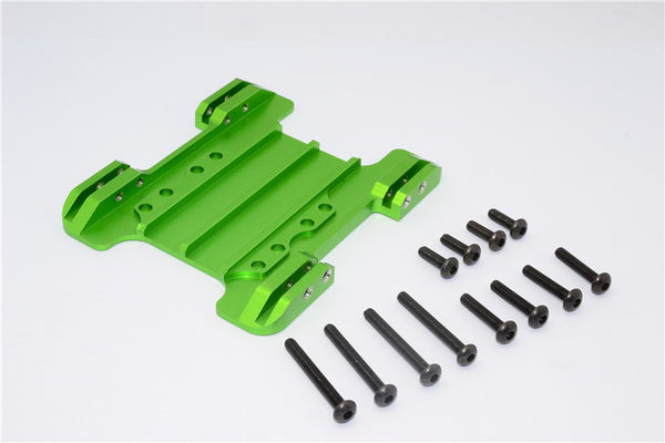 Gmade Crawler R1 Rock Buggy Aluminum Center Skid Plate - 1Pc Set Green