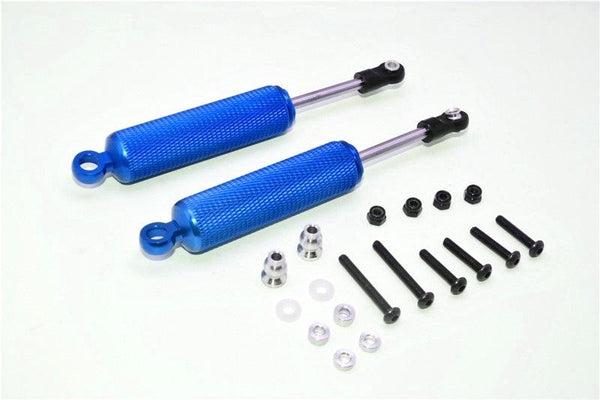 Gmade Crawler R1 Rock Buggy Aluminum Front/Rear Internal Shocks (110mm) - 1Pr Set Blue