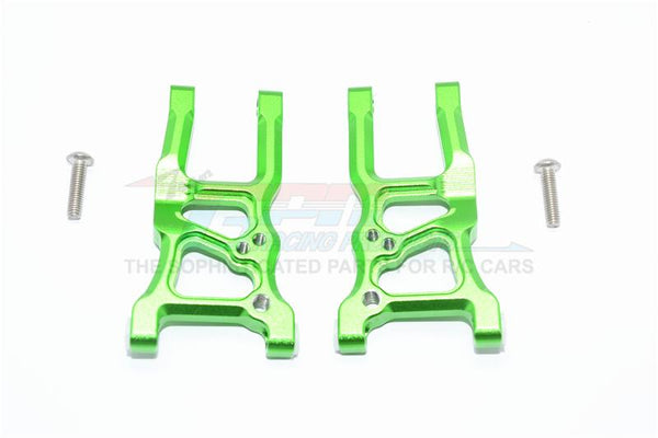 Traxxas Ford GT 4-Tec 2.0 (83056-4) Aluminum Front Suspension Arms - 1Pr Set Green