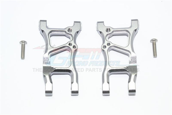 Traxxas Ford GT 4-Tec 2.0 (83056-4) Aluminum Rear Suspension Arms - 1Pr Set Gray Silver