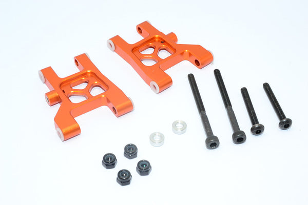 Tamiya M1025 Hummer Aluminum Front Lower Arm - 1Pr Orange