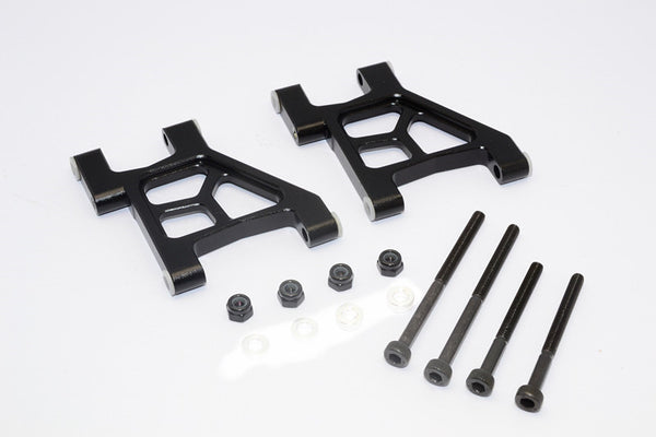 Tamiya M1025 Hummer Aluminum Rear Lower Arm - 1Pr Black