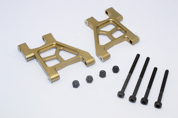 Tamiya M1025 Hummer Aluminum Rear Lower Arm - 1Pr Titanium
