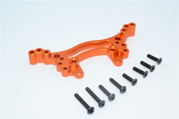 HSP 94103 Aluminum Rear Shock Tower - 1Pc Orange