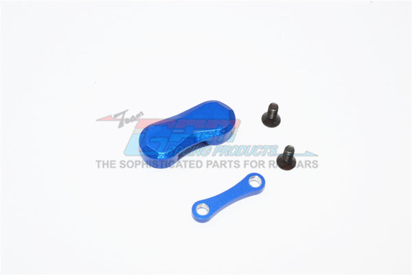 Kyosho Motorcycle NSR500 Aluminum Rear Car Plate - 1Pc Blue