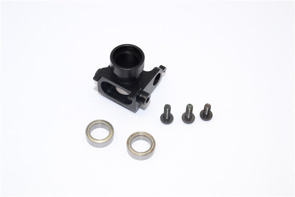 Kyosho Motorcycle NSR500 Aluminum Bearing Steering Set With Screws (Excl. 8X12 Bearing) - 1Pc Set Black