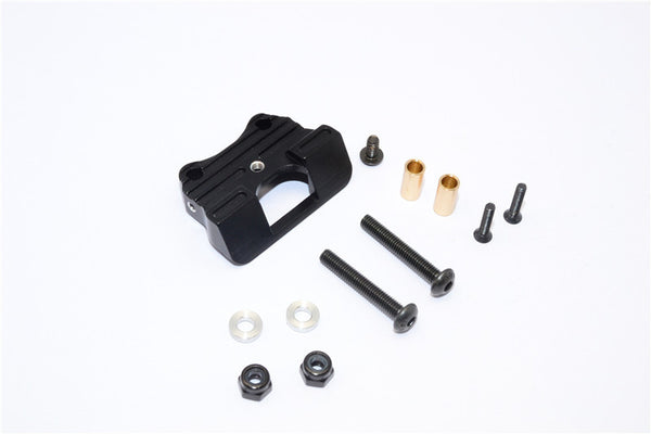 Kyosho Motorcycle NSR500 Aluminum Drive Stand With Screws & Aluminum Collars & Lock Nuts - 1Pc Set Black