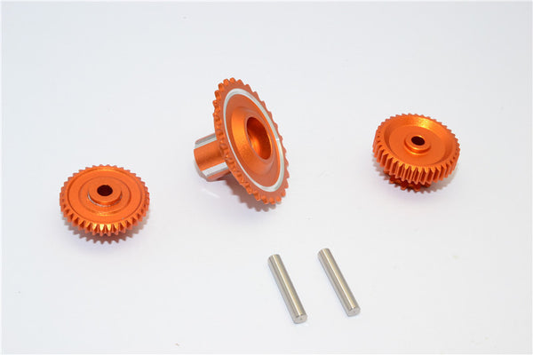 Kyosho Motorcycle NSR500 Aluminum Wheel Gear Assembly (52T+53T+55T) - 3Pcs Set Orange