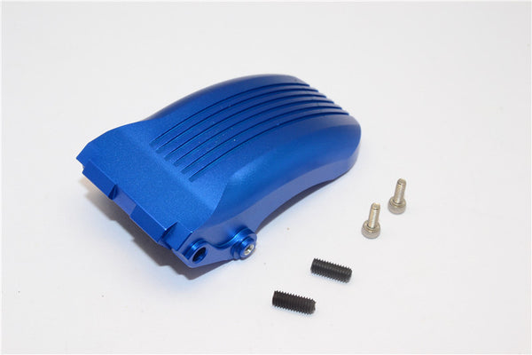 Kyosho Motorcycle NSR500 Aluminum Rear Wheel Fender - 1Pc Set Blue