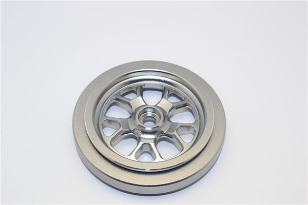 Kyosho Motorcycle NSR500 Aluminum Front Wheel (5 Spoke) - 1Pc Gray Silver
