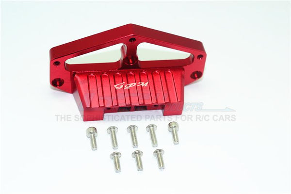 Tamiya Lunch Box Aluminum Front Lower Arm Stabilizer - 1Pc Set Red