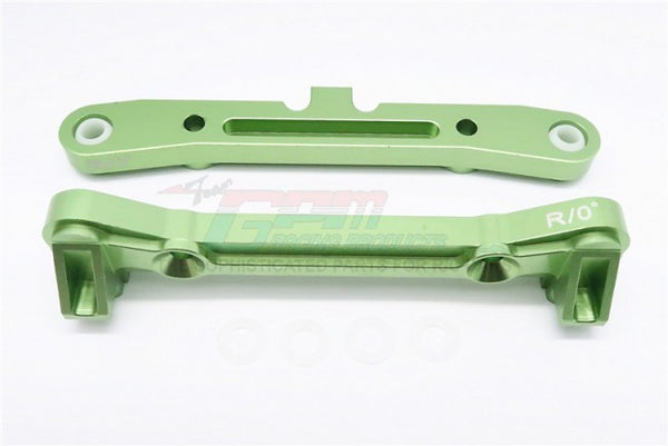 Team Losi 5ive-T Aluminum 7075 Rear Arm Bulk (4 Degree) - 2Pcs Green