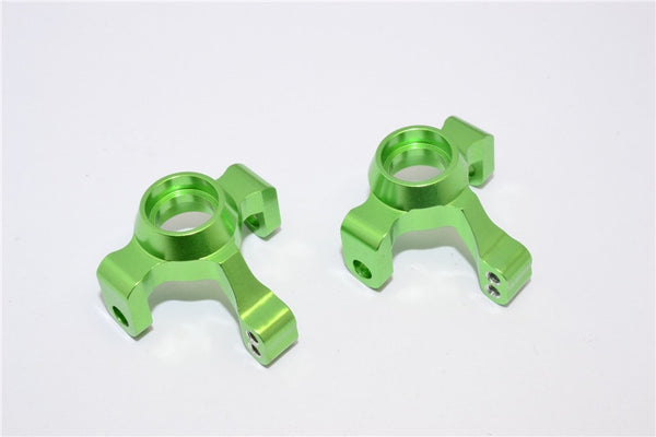 Traxxas LaTrax Rally / SST / Teton Aluminum Front Knuckle Arm - 1Pr Set Green