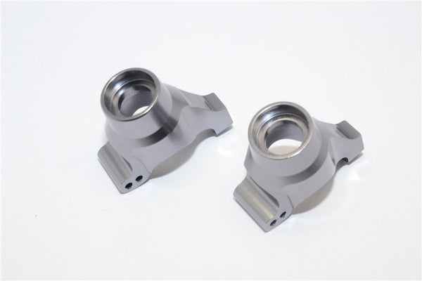 Traxxas LaTrax Rally / SST / Teton Aluminum Rear Knuckle Arm - 1Pr Set Gray Silver