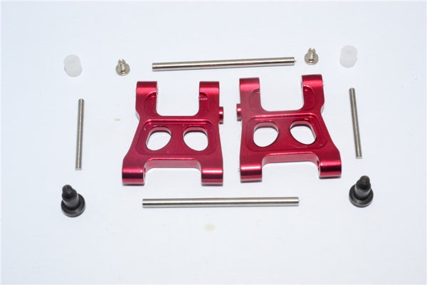 Traxxas Latrax Rally Aluminum Front/Rear Lower Arm - 1Pr Set Red