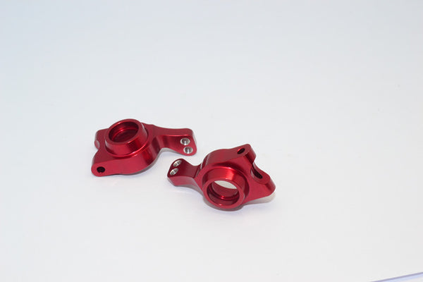 Team Losi Mini 8ight & 8ight-T Aluminum Rear Knuckle Arm - 1Pr Set Red