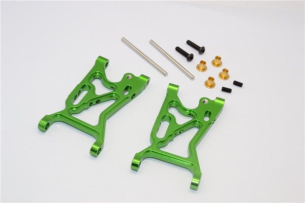 Team Losi Mini 8ight Aluminum Front Suspension Arm - 1Pr Set Green