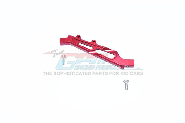 Arrma LIMITLESS / INFRACTION Aluminum Front Chassis Brace - 1Pc Set Red