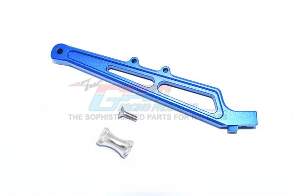 Arrma LIMITLESS / INFRACTION Aluminum Rear Chassis Brace&Collar - 1Pc Set Blue