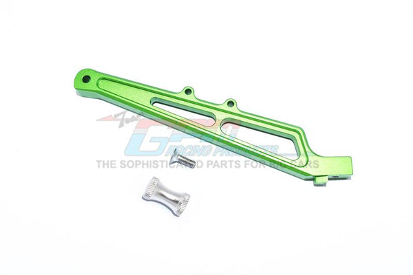 Arrma LIMITLESS / INFRACTION Aluminum Rear Chassis Brace&Collar - 1Pc Set Green