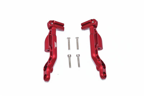 Arrma 1/7 INFRACTION 6S BLX Aluminum Rear Body Post Fixed Mount - 2Pc Set Red