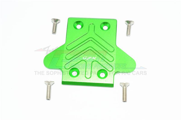 Arrma Kraton 6S BLX (AR106005/106015/106018) Aluminum Front Chassis Protection Plate - 1Pc Set Green