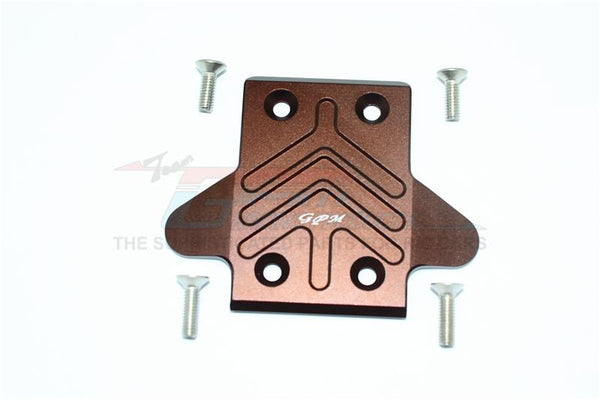 Arrma KRATON / OUTCAST / SENTON 6S BLX Aluminum Rear Chassis Protection Plate - 1Pc Set Brown