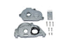 Arrma 1:10 KRATON 4S BLX / SENTON 3S BLX Aluminum Rear Gear Protection Motor Mount - 10Pc Set Gray Silver