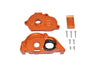 Arrma 1:10 KRATON 4S BLX / SENTON 3S BLX Aluminum Rear Gear Protection Motor Mount - 10Pc Set Orange