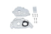 Arrma 1:10 KRATON 4S BLX / SENTON 3S BLX Aluminum Rear Gear Protection Motor Mount - 10Pc Set Silver