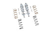 Arrma 1/10 KRATON 4S BLX Aluminum Front Thickened Spring Dampers 107mm - 10Pc Set Silver