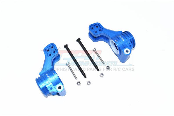 Arrma 1/5 KRATON 8S BLX Monster Truck Aluminum Rear Knuckle Arm - 2Pc Set Blue