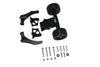 Arrma 1/5 KRATON 8S BLX / OUTCAST 8S BLX Aluminum Rear Wheelie With Wing Mount - 1 Set Black