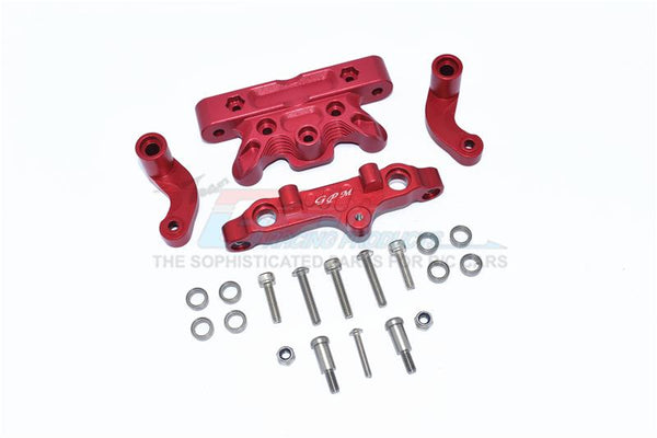 Arrma 1/5 KRATON 8S BLX Monster Truck Aluminum Steering Assembly -22Pc Set Red