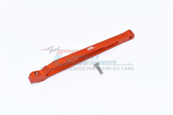 Arrma 1/7 Mojave 6S BLX Aluminum Rear Chassis Brace - 1Pc Set Orange