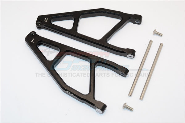 Arrma Nero 6S BLX (AR106009, AR106011) Aluminum Rear Upper Arms -1Pr Black