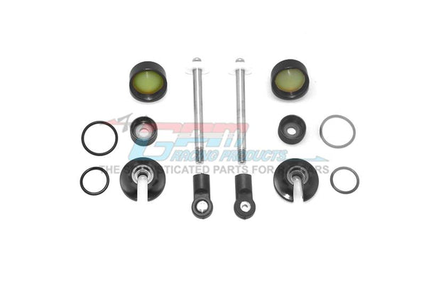 Alloy Full Damper Rebuild Kit For GPM Optional Rear Shocks Item# MAS110R For Arrma Senton 6S Blx / Typhon 6S Blx - 1 Set Black