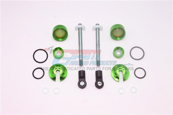Alloy Full Damper Rebuild Kit For GPM Optional Rear Shocks Item# MAS110R For Arrma Senton 6S Blx / Typhon 6S Blx - 1 Set Green
