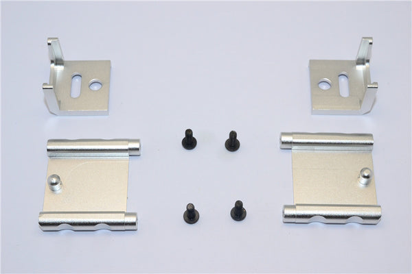 Tamiya MF01X Aluminum Battery Holder (138mm) - 1 Set Silver