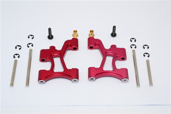 Tamiya MF01X & M06 Aluminum Rear Suspension Arm - 1Pr Set Red