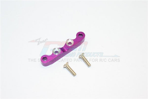 Kyosho Mini Inferno Aluminum Rear Arm Bulk For Front Gear Box With Screws - 1Pc Set Purple