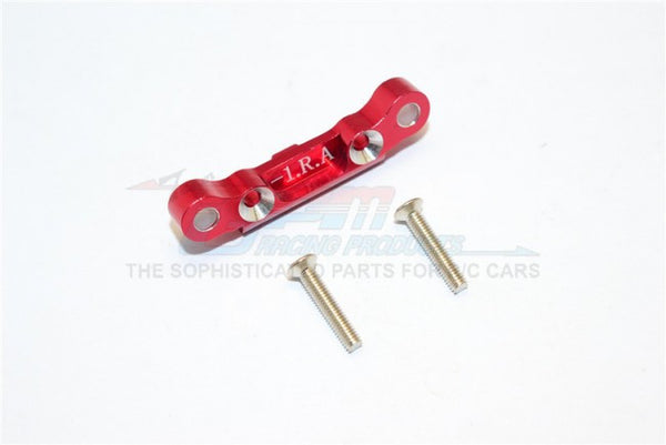 Kyosho Mini Inferno Aluminum Rear Arm Bulk (1 Deg) For Rear Gear Box With Screws - 1Pc Set Red