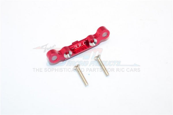 Kyosho Mini Inferno Aluminum Rear Arm Bulk (3 Deg) For Rear Gear Box With Screws - 1Pc Set Red