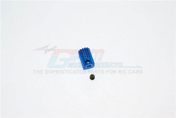 Kyosho Mini Inferno Aluminum Motor Gear (12T) - 1Pc Set Blue