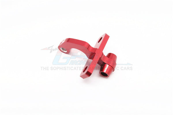 Kyosho Mini Inferno Aluminum Rear Gear Box Mount Connector (Linking Tie Rod & Gear Box Mount) - 1Pc Red