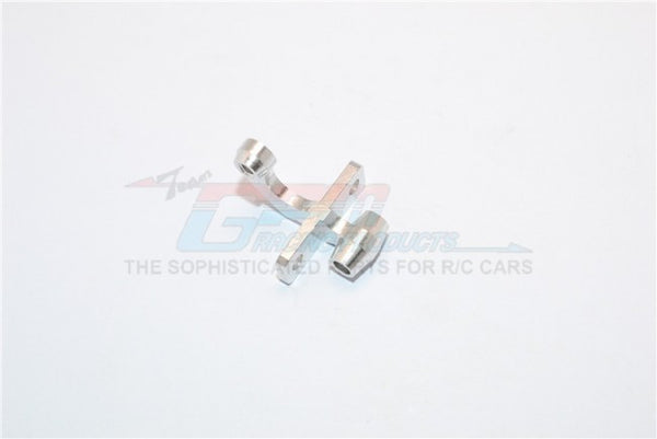 Kyosho Mini Inferno Aluminum Rear Gear Box Mount Connector (Linking Tie Rod & Gear Box Mount) - 1Pc Silver