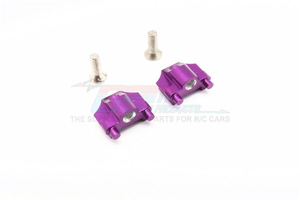 Kyosho Mini Inferno Aluminum Battery Holder Mount With Screws - 1Pr Set Purple
